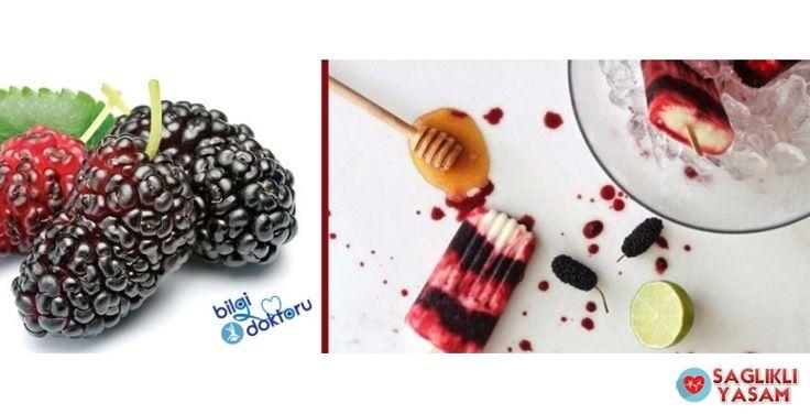 Hem çok lezzetli, hem de doğal;Karadut ve yoğurt ile hazırlanan sağlık dolu bir buz dondurma tarifi. Şuan tam karadut zamanı. Bol