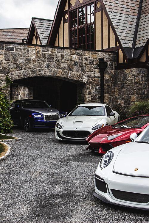 Porsche 911 GT3, Lamborghini Aventador, Maserati GranTurismo MC Stradale, Rolls …