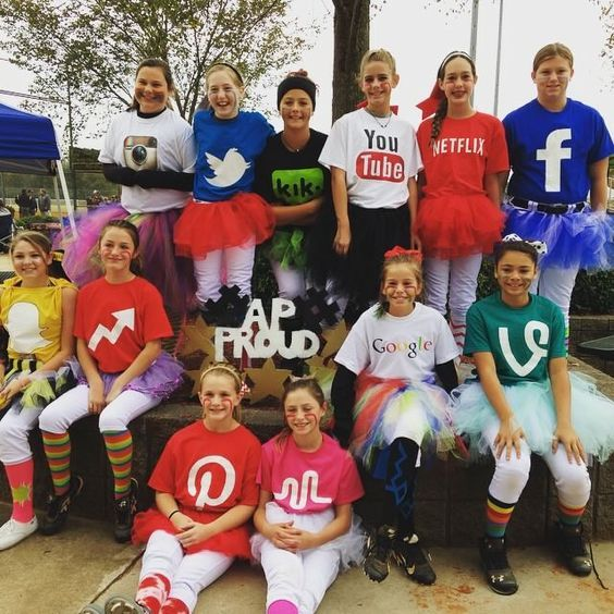 50 bold and cute group halloween costumes for cheerful girls ecstasycoffee - Cute Ideas For Halloween