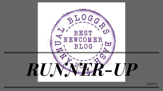 Runner-up Newcomer Blogger - in THE BLOGGER BASH AWARDS