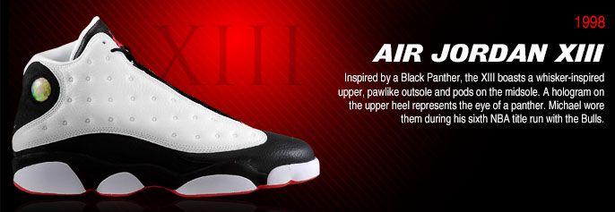 History of Air Jordan 13