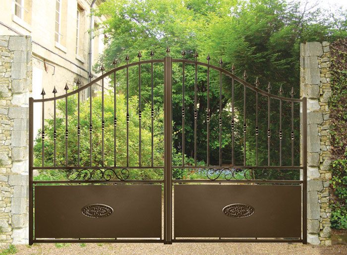 15 best images about portones on pinterest entry gates for Portones de hierro para garage