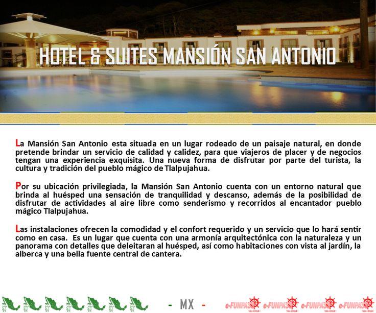 TALPUJAHUA - Hotel & Suites Mansión San Antonio