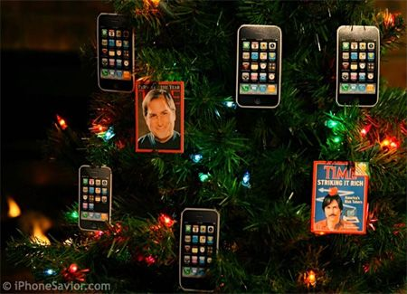 iPhone Ornaments.  Nothing feels like Christmas more than having an iPhone ornament hanging from your tree.: Christmas Ornament