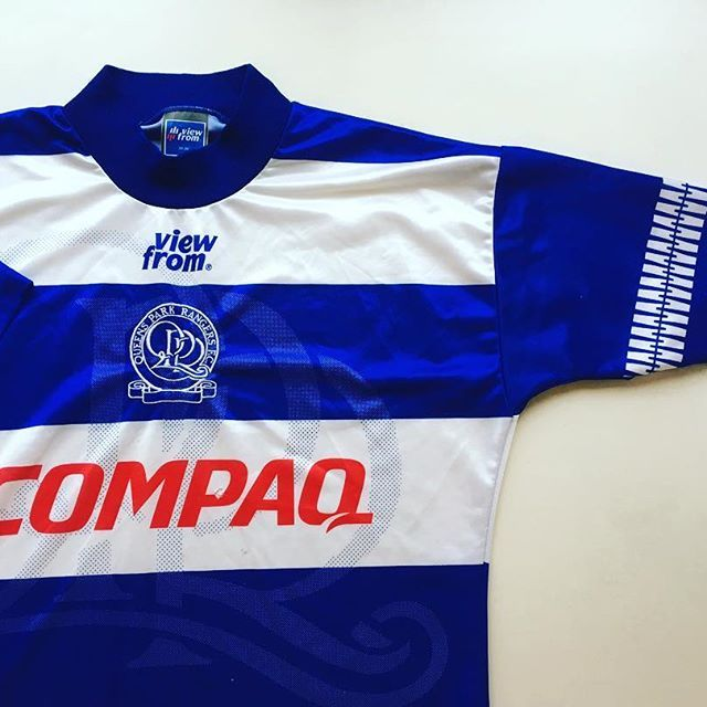pretty nice aae4d 9839a Retro QPR shirt looking very retro - link in bio ...