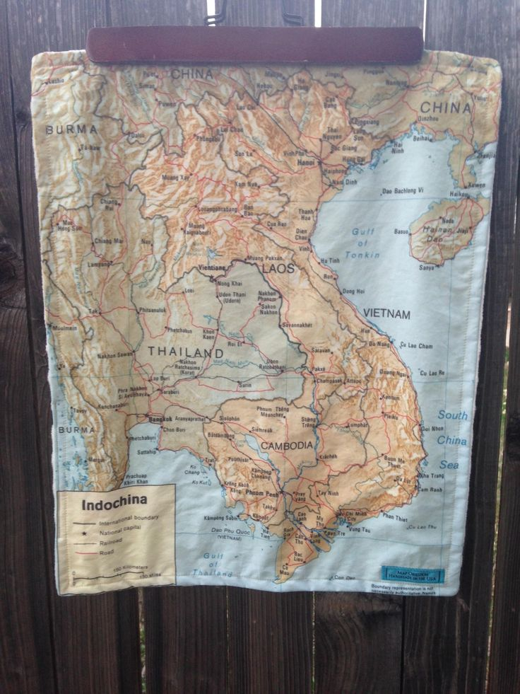 178 best map obsession on etsy images on pinterest maps fat indochina map blanket vietnam laos thailand cambodia map baby minky security blankie gumiabroncs Images