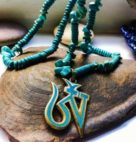 lovely bohemian necklace gemstone chip necklace by Elementarymagic