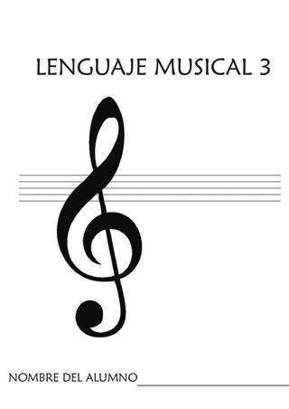 Cuaderno de Lenguaje Musical para 1er Ciclo de educación primaria.