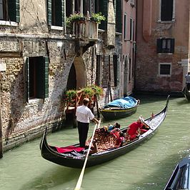 While the crowds can be challenging for family trips to Venice, these
