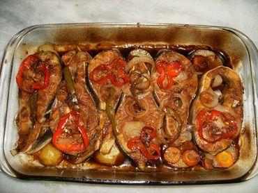 Receita de Cação ao forno com batatas - Tudo Gostoso
