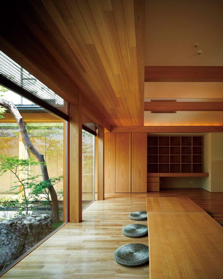 伝統美が息づく和モダン住宅 | 建築家住宅のデザイン 外観&内観集|高級注文住宅 HOP                                                                                                                                                                                 もっと見る