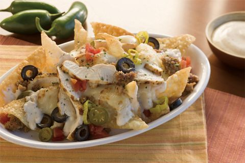 Italian Nachos...These are wonderful!