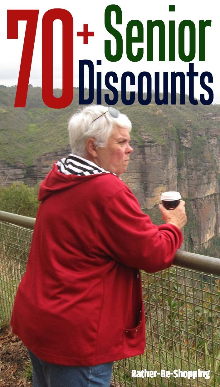 70+ Places That Offer a Senior Discount