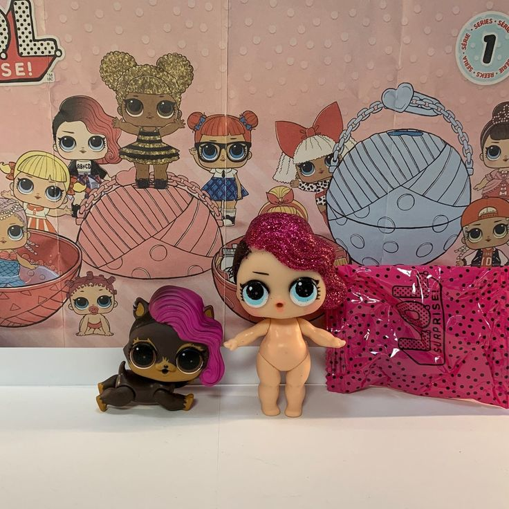Lol Surprise Glitter Series and Series 3 Pets Rocker