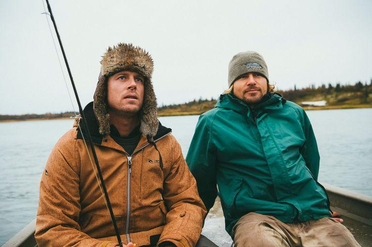 Wild Ark Ambassador, Mick Fanning with founder, Mark Hutchinson. Photo by Kirstin Scholtz