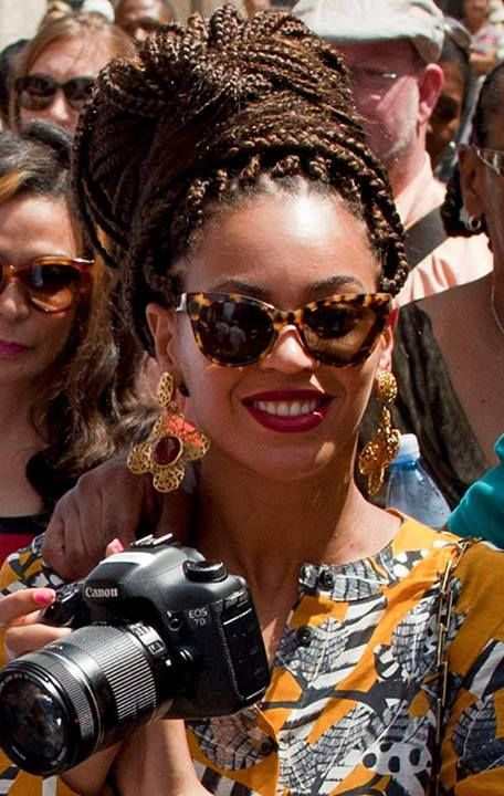 Beyonce on her Dita sunglasses!  more Dita here: http://panaidis.gr/page/default.asp?id=24=1=610