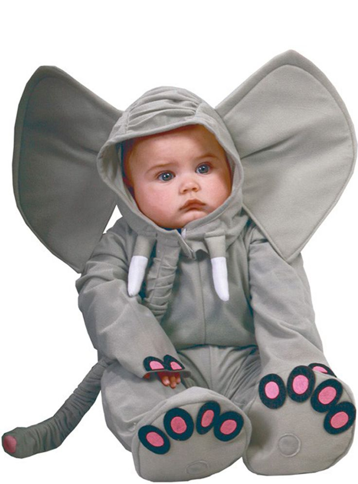 Olifant kostuum voor baby