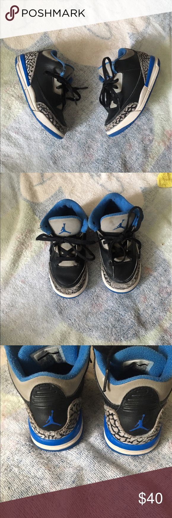 Jordan retro 3s sz 10c Jordan retro 3s Good condition  No box  No free shipping  No holds  Price negotiable  Low offers will be ignored  Bundle to save   Jordan , Nike, sneakers, shoes , boy , girl , toddler Jordan Shoes Sneakers