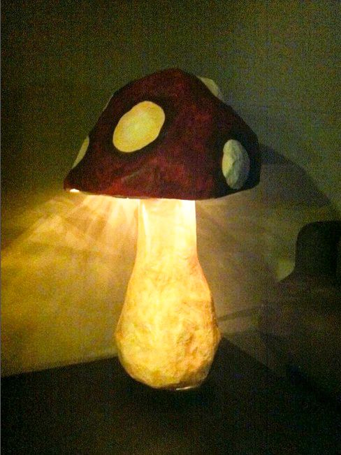 Make your own magic shroom light | Offbeat Home