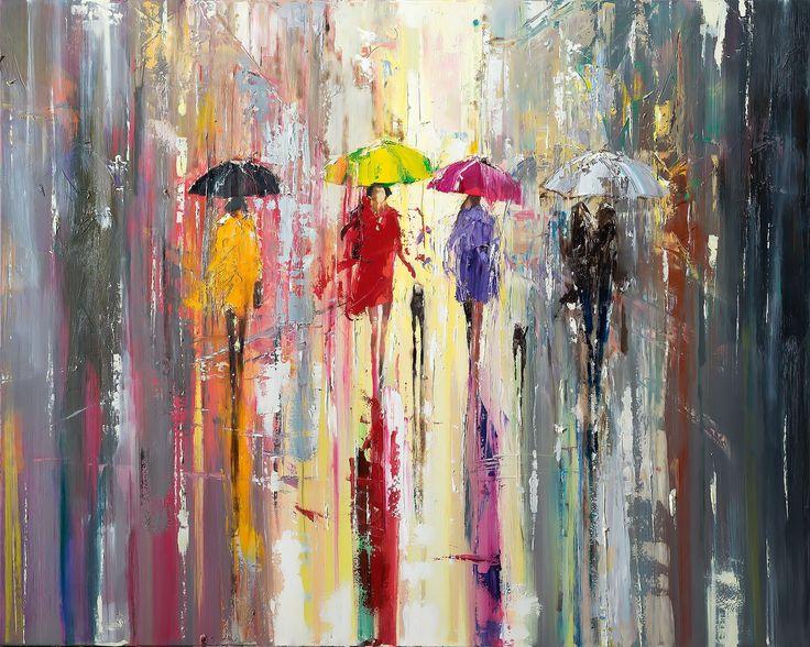 New in our shop! 'Out in The Rain' Oil Painting Ready To Hang http://evaart.net/products/out-in-the-rain-oil-picture-ready-to-hang?utm_campaign=crowdfire&utm_content=crowdfire&utm_medium=social&utm_source=pinterest