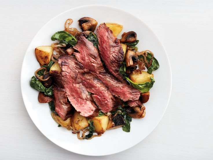 Get this all-star, easy-to-follow Skirt Steak With Mushroom Hash recipe from Food Network Kitchen