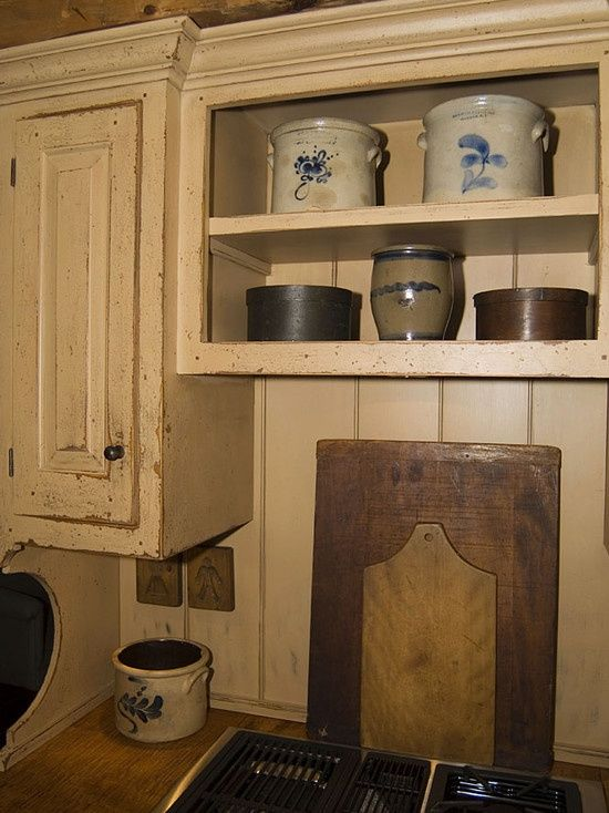 47 Best Primitive Kitchens Images On Pinterest Cottage