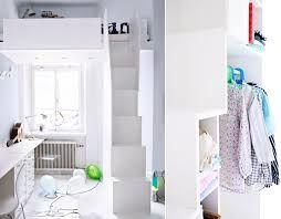 Bildresultat för loftsäng med trappa