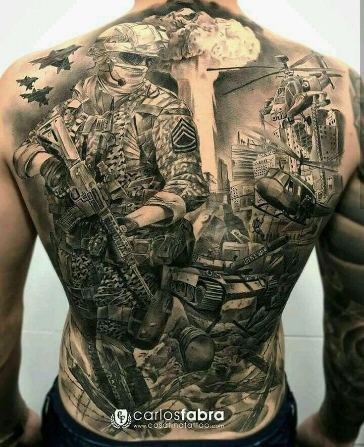 качественного армейские фотографии с тату итальянский