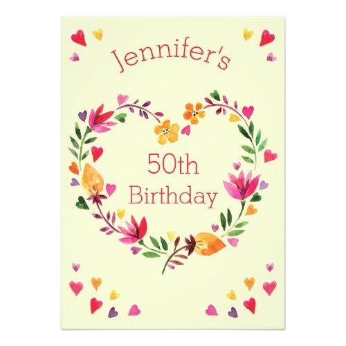 cards invitations for birthdays