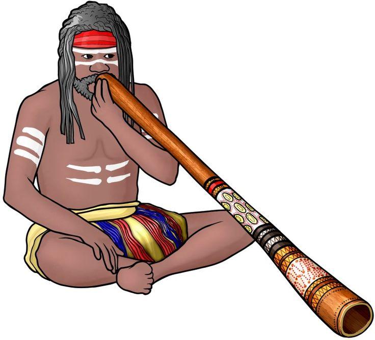 #管楽器:ディジュリドゥの演奏(オーストラリア)