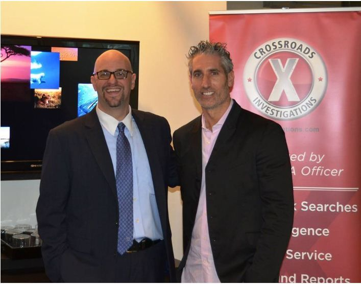 Marc Hurewitz, Crossroads Investigations Lunch & Learn @ YES WorkSpaces http://www.yesworkspaces.com/