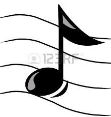 Resultado de imagen de dibujos notas musicales recortables