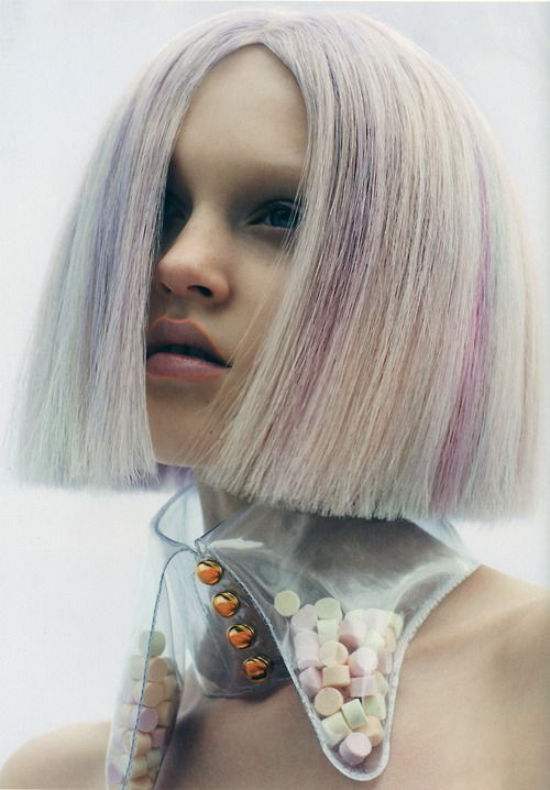 Pastel lollies and hair - beauty inspiration for GLOWLIKEAMOFO.com