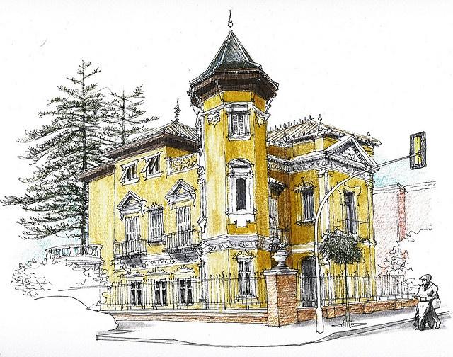 Málaga, Villa Onieva by Luis_Ruiz, via Flickr