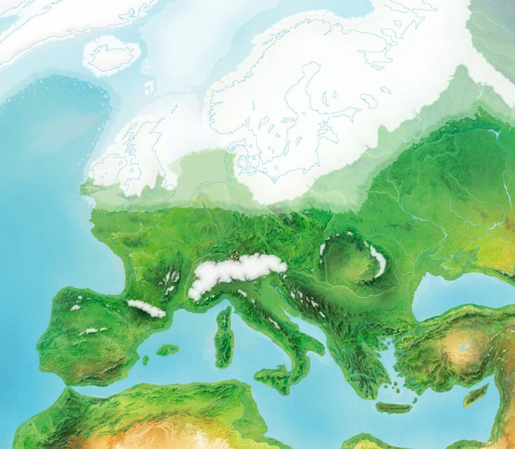 Best Irish Ice Age Images On Pinterest Ice Age Irish And - Map of how last ice age affected us
