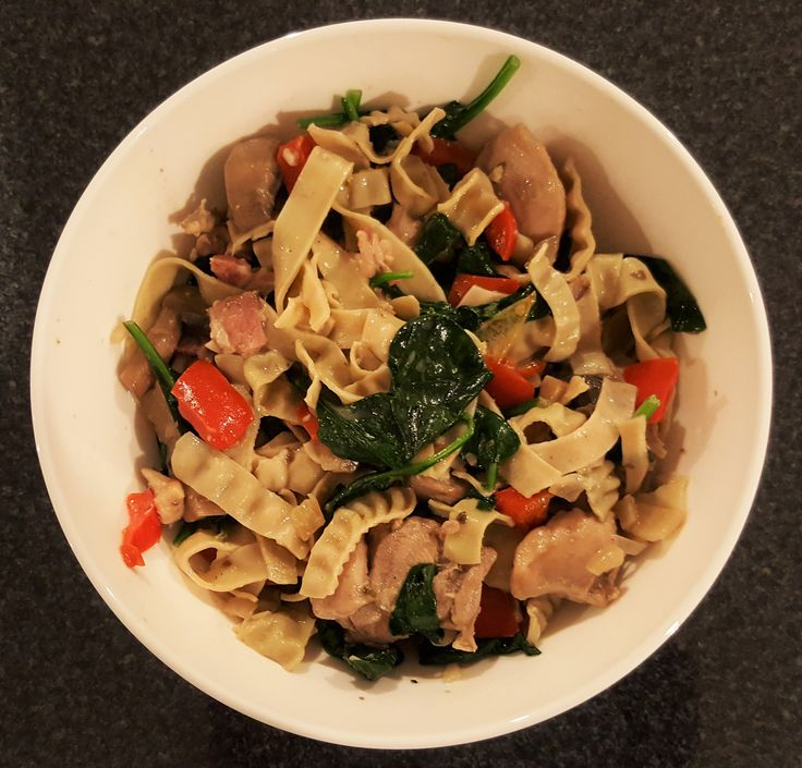 Check out our fortnightly recipe... chicken and bacon mung bean fettuccine! Link is below: http://eepurl.com/conZJ5