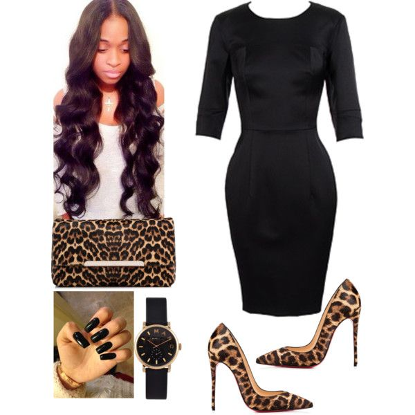 Wake Service!!#BishopJNeaulHaynes!!! by cogic-fashion on Polyvore featuring polyvore, fashion, style, Christian Louboutin and Marc by Marc Jacobs