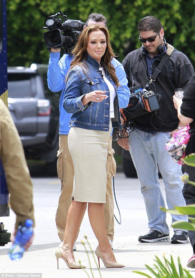 Leah Remini Fat Butt