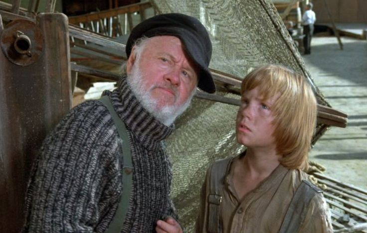 Mickey Rooney in Pete's Dragon, 1977.