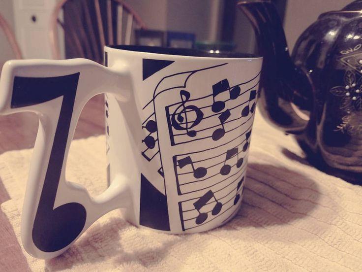 Haopy Friday! #music #musicians #indieclassical #indiana #indianapolis #indie #classical #clarinet #ericsalazar #ejsmusic #mug #tea