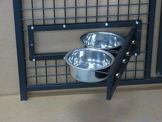 Cool idea for easy feedings- good solution for aggressive pets