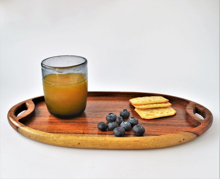 Classical wooden tray