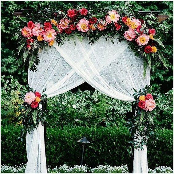 Bright Wedding Ceremony Details