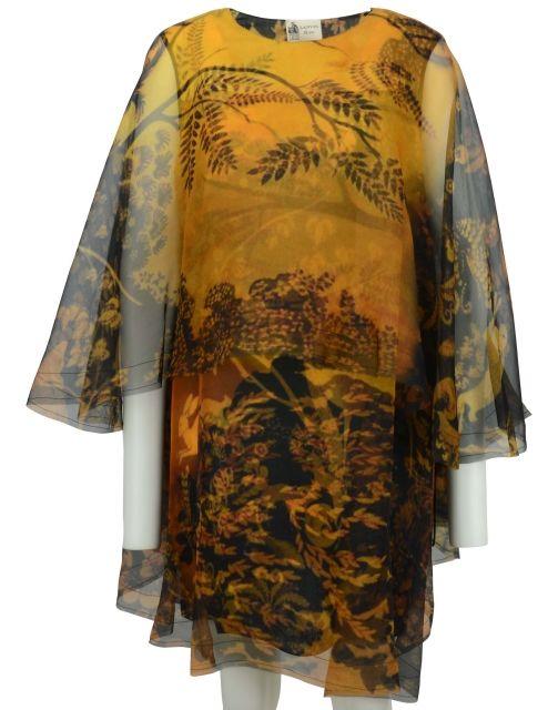 Silk Orange Dress by Lanvin