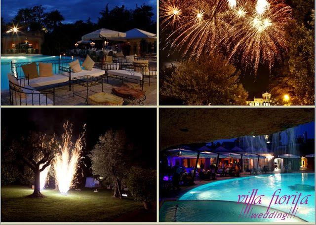 wedding pool party, l'evento