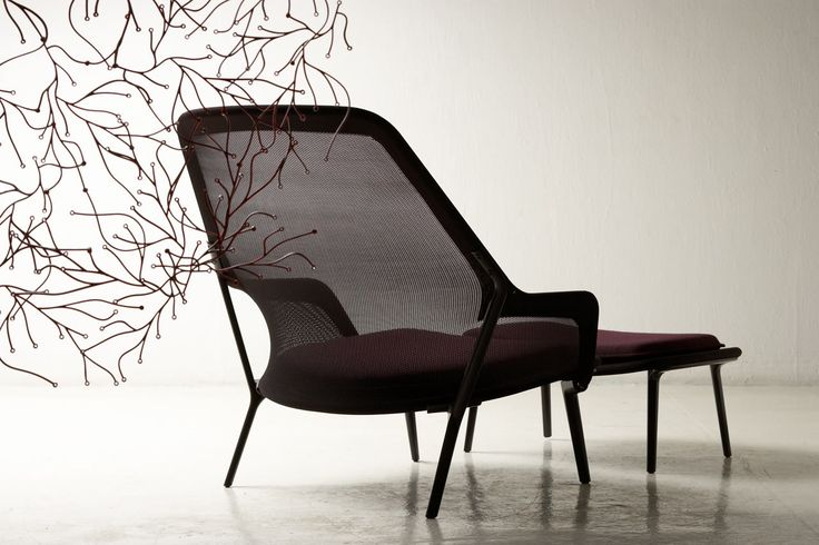 The Slow Chair by Ronan and Erwan Bouroullec Spaciousand CozyModern Armchair Defined By a Lightweight Structure