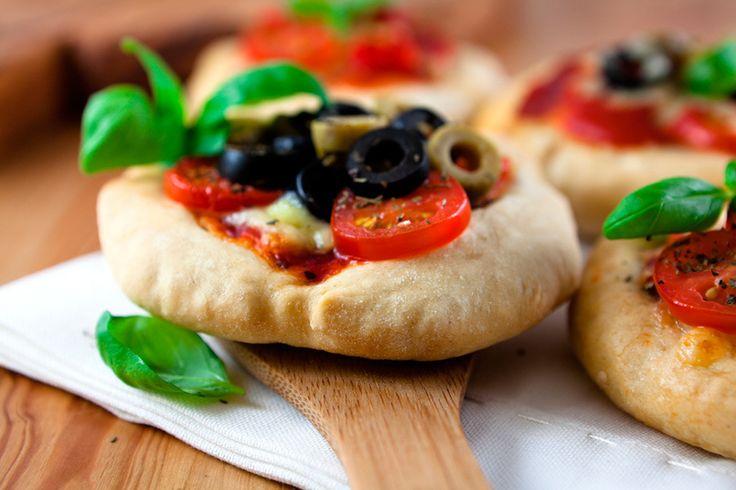 Minipizzas vegetales, ¡disfrutando de la verdura! - Recetín