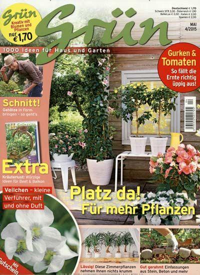 Great Gr n Kreativ mit Blumen u Pflanzen im Abo kaufen oder als Geschenkabo bestellen und mehr ber Wohnen u Garten erfahren