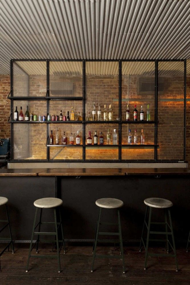 Cool looking bar. Would be awesome for a basement or outside