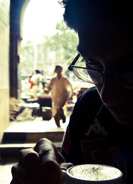 A Moment at the Chai Shop by Arun Shah Masood, via Flickr